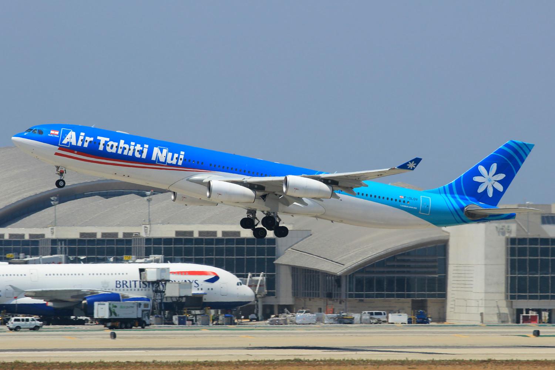 Re:[原创]突然就想发个帖 AIRBUS A340-300 F-OLOV 美国洛杉矶机场