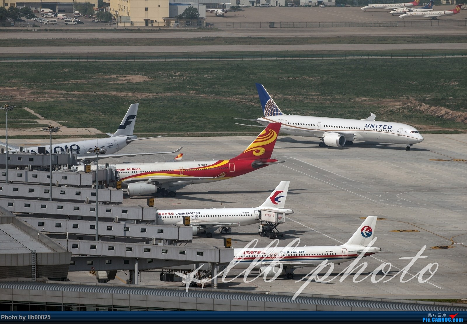 [原创]XIY—一些杂图,UA 789 BOEING 787-9 N17963 中国西安咸阳国际机场