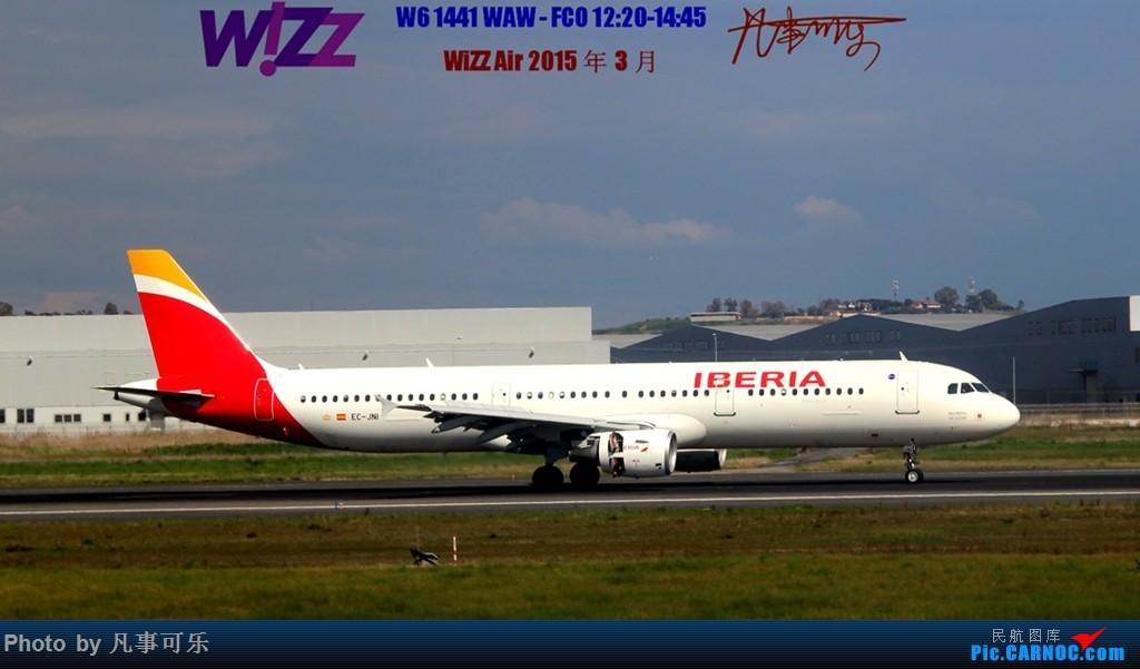 Re:[原创]【可乐飞旅5】WiZZ Air 波兰华沙机场--意大利罗马FCO体验 AIRBUS A321 EC-JNI 意大利菲乌米奇诺机场