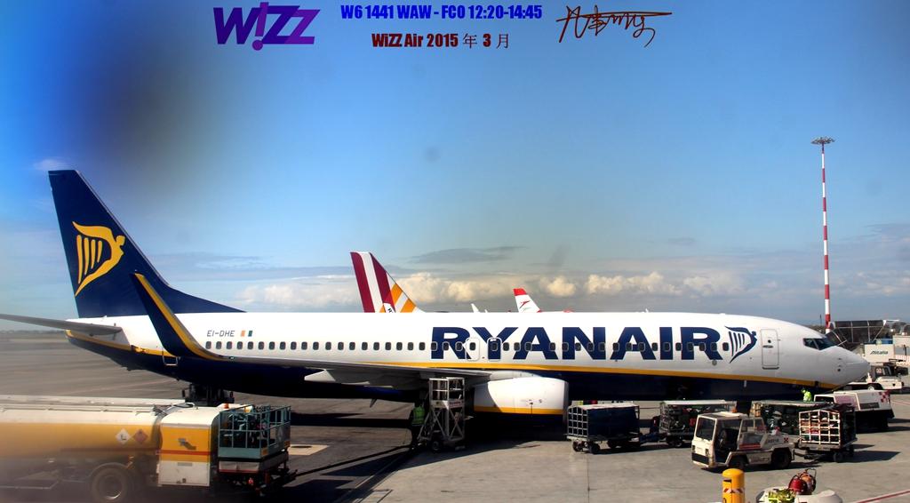 Re:[原创]【可乐飞旅5】WiZZ Air 波兰华沙机场--意大利罗马FCO体验 BOEING 737-800 EI-DHE 意大利菲乌米奇诺机场
