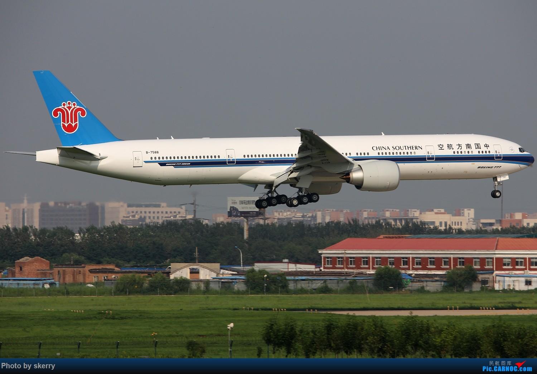 [原创]***【TSN飞友会】南航第10架77W B-7588天津入关** BOEING 777-300ER B-7588 中国天津滨海国际机场