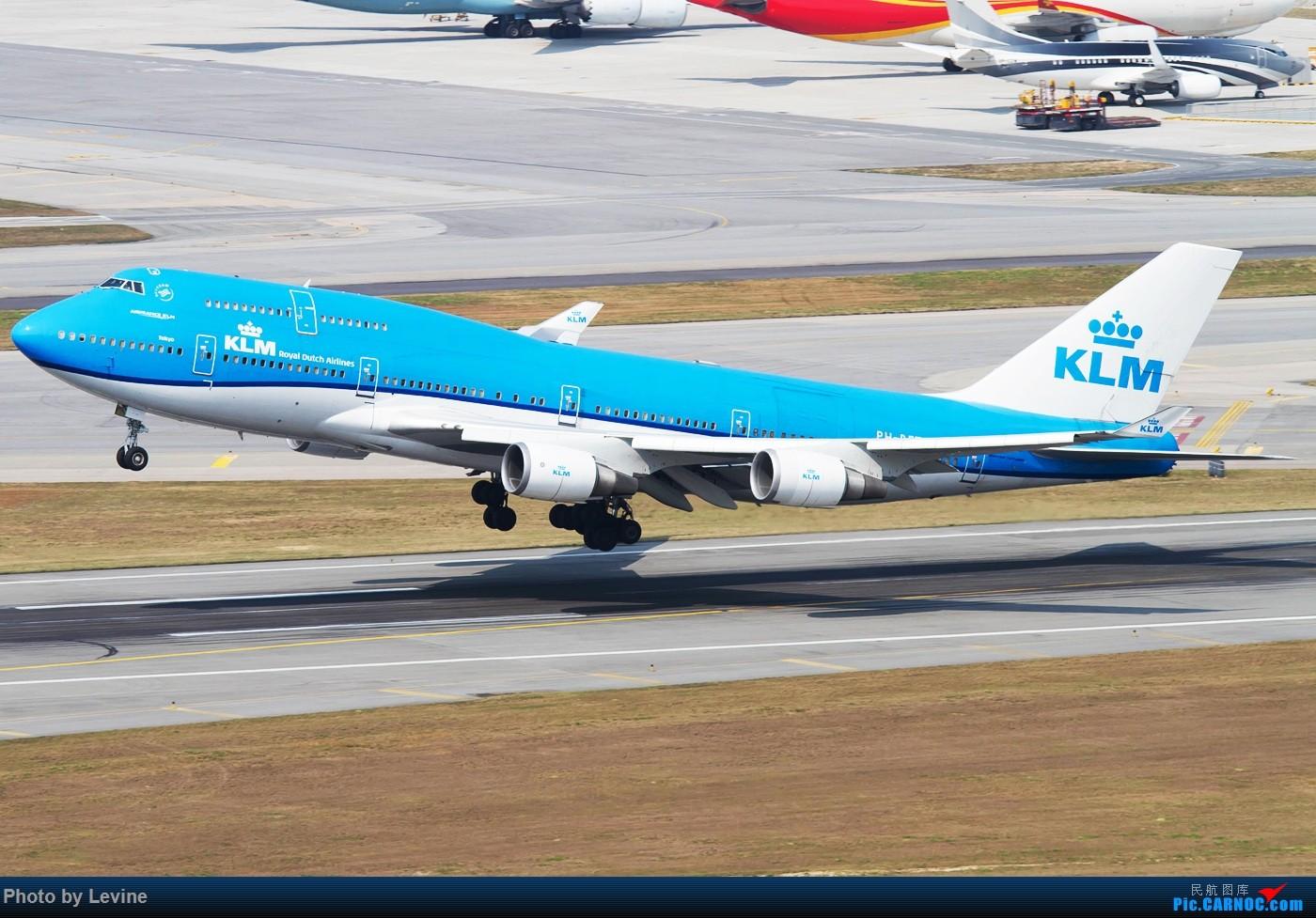 Re:[原创]今冬沙螺湾 迟来的图片 BOEING 747-400 PH-BFT 中国香港国际机场