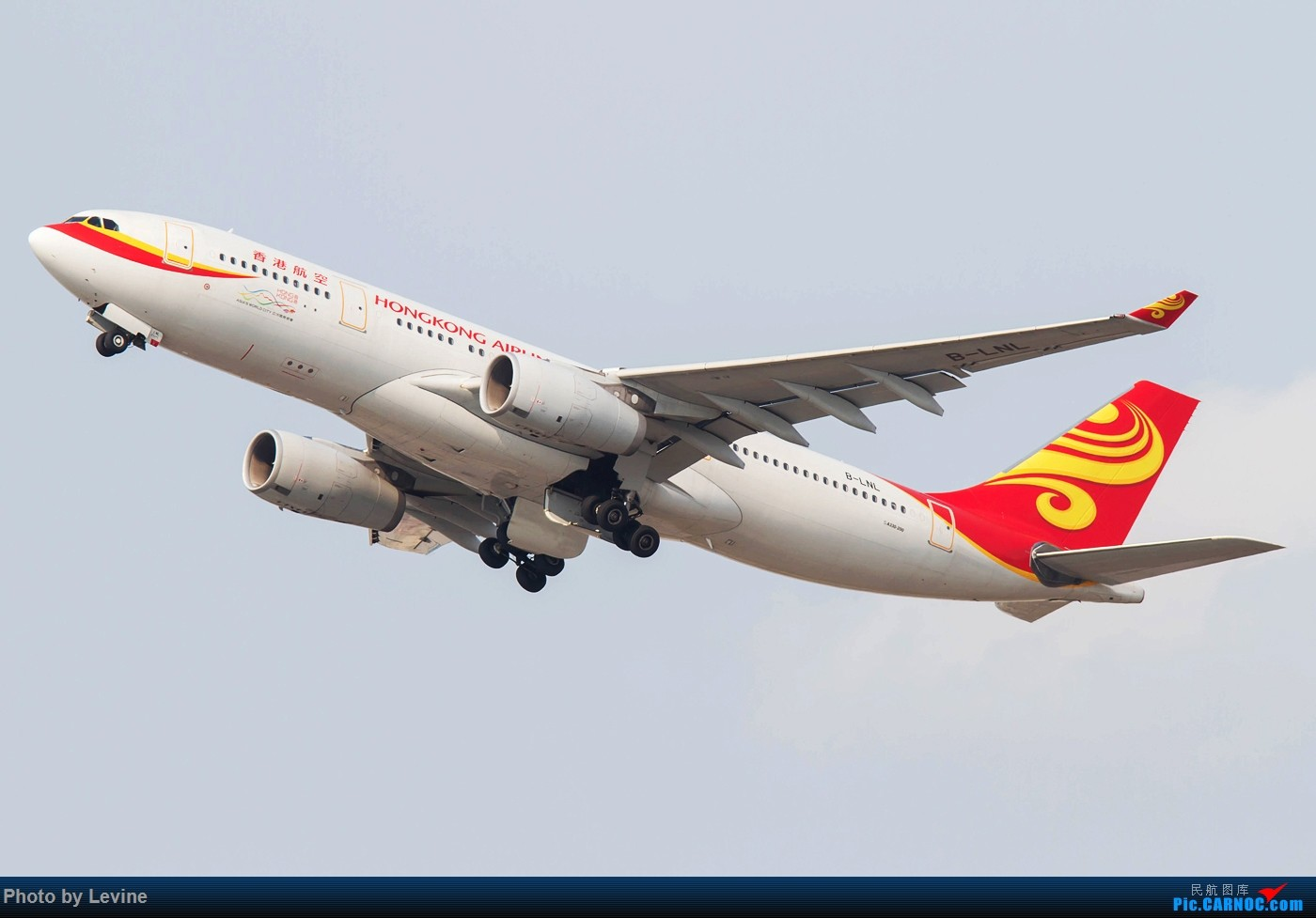 Re:[原创]今冬沙螺湾 迟来的图片 AIRBUS A330-200 B-LNL 中国香港国际机场