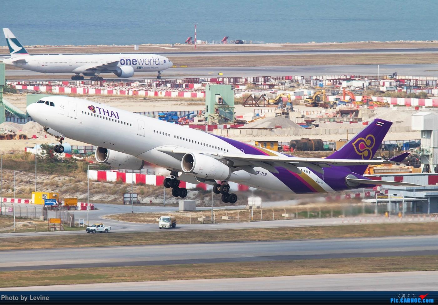 Re:[原创]今冬沙螺湾 迟来的图片 AIRBUS A330-300 HS-TER 中国香港国际机场