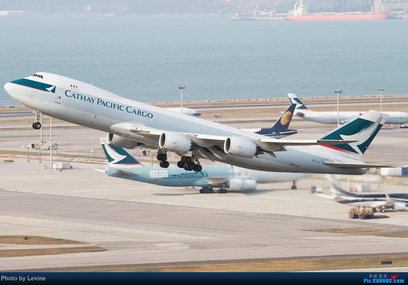 Re:[原创]今冬沙螺湾 迟来的图片 BOEING 747-8I B-LJH 中国香港国际机场