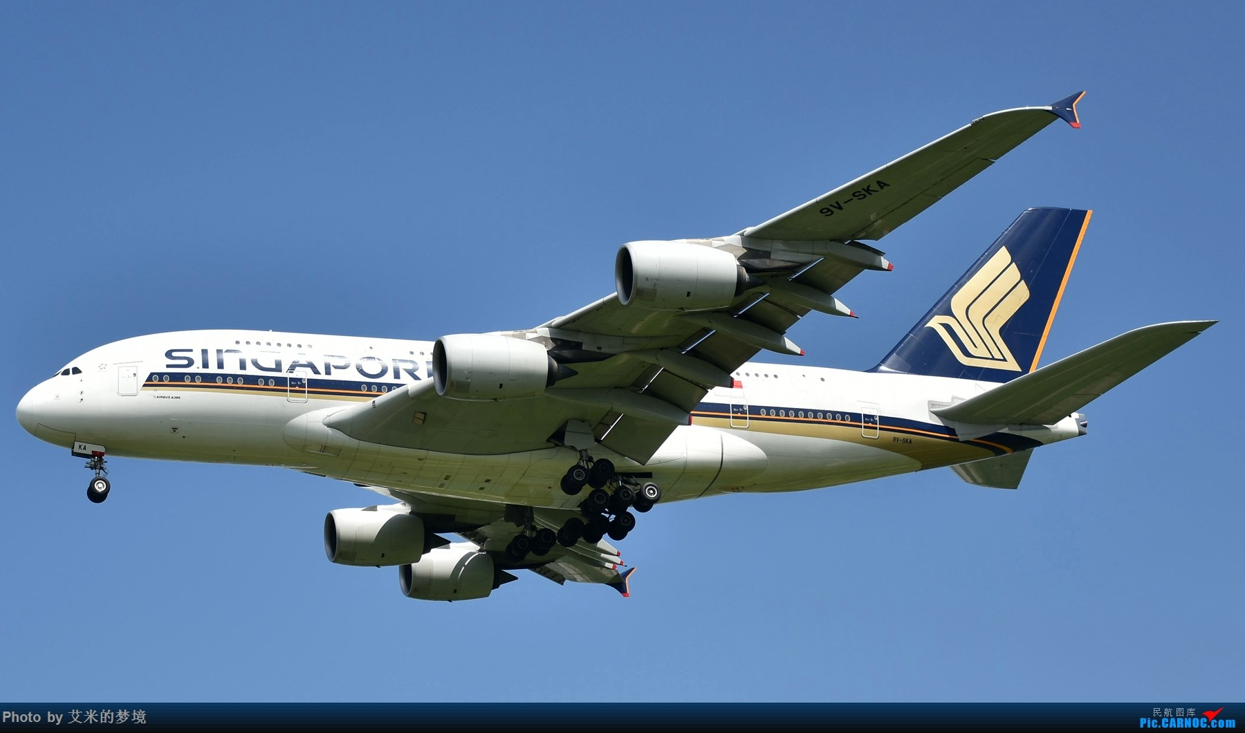 Re:[原创]【carnoc重庆飞友会】北京送行,所见飞行 AIRBUS A380-800 9V-SAK 中国北京首都国际机场
