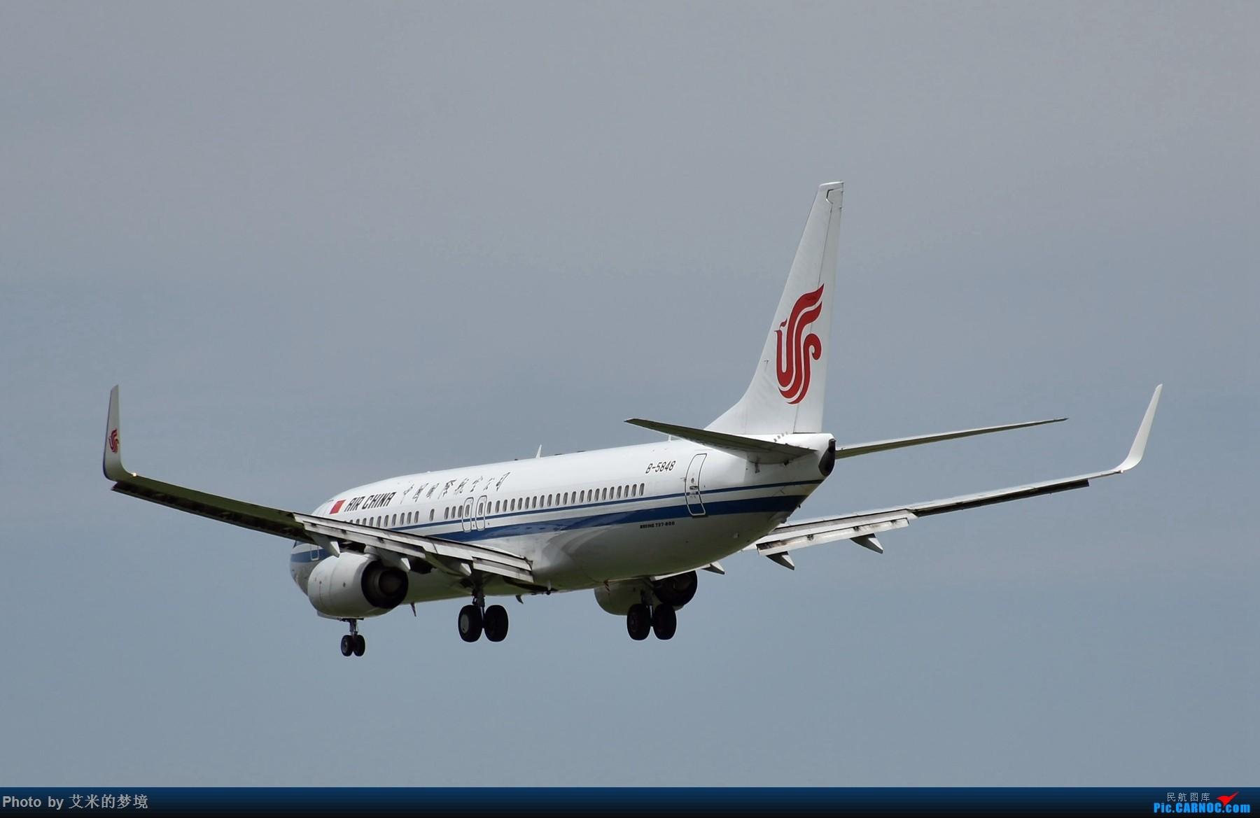 Re:[原创]【carnoc重庆飞友会】北京送行,所见飞行 BOEING 737-800 B-5848 中国北京首都国际机场