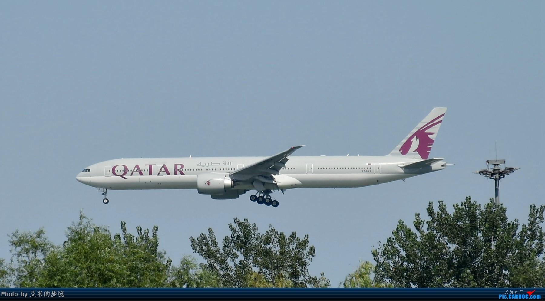 Re:[原创]【carnoc重庆飞友会】北京送行,所见飞行 BOEING 777-300ER A7-BAX 中国北京首都国际机场