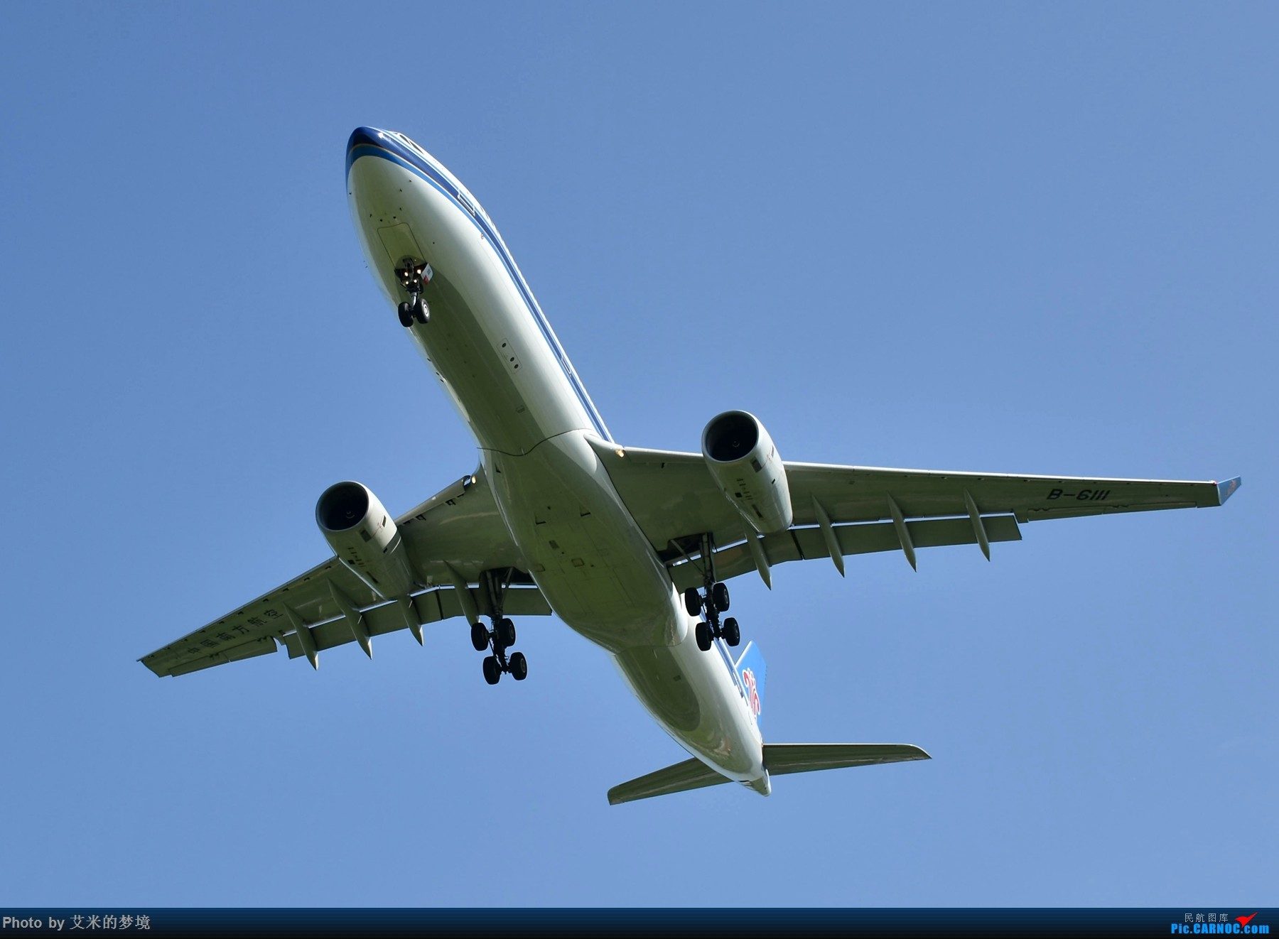 Re:[原创]【carnoc重庆飞友会】北京送行,所见飞行 AIRBUS A330-300 B-6111 中国北京首都国际机场