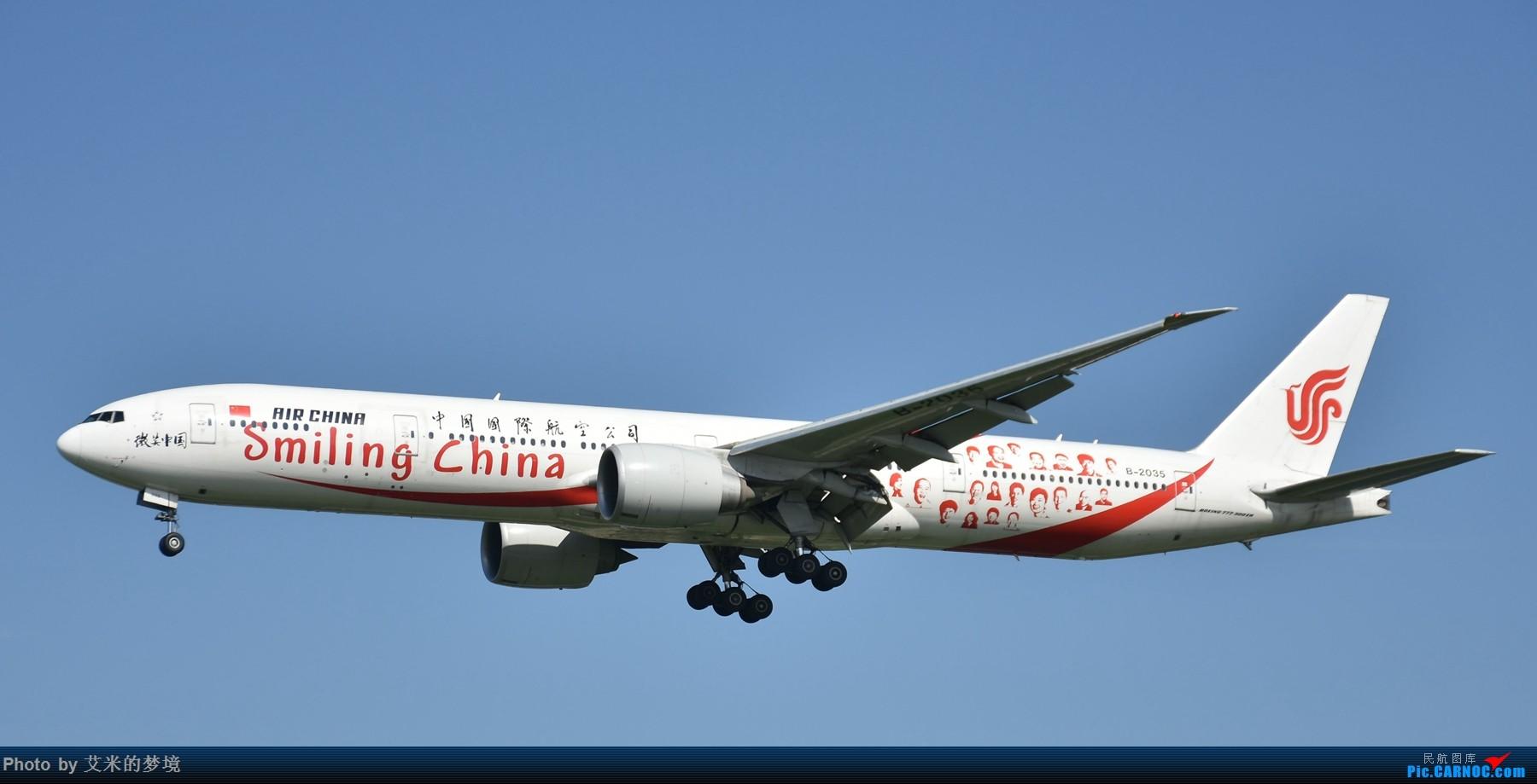 Re:[原创]【carnoc重庆飞友会】北京送行,所见飞行 BOEING 777-300ER B-2035 中国北京首都国际机场
