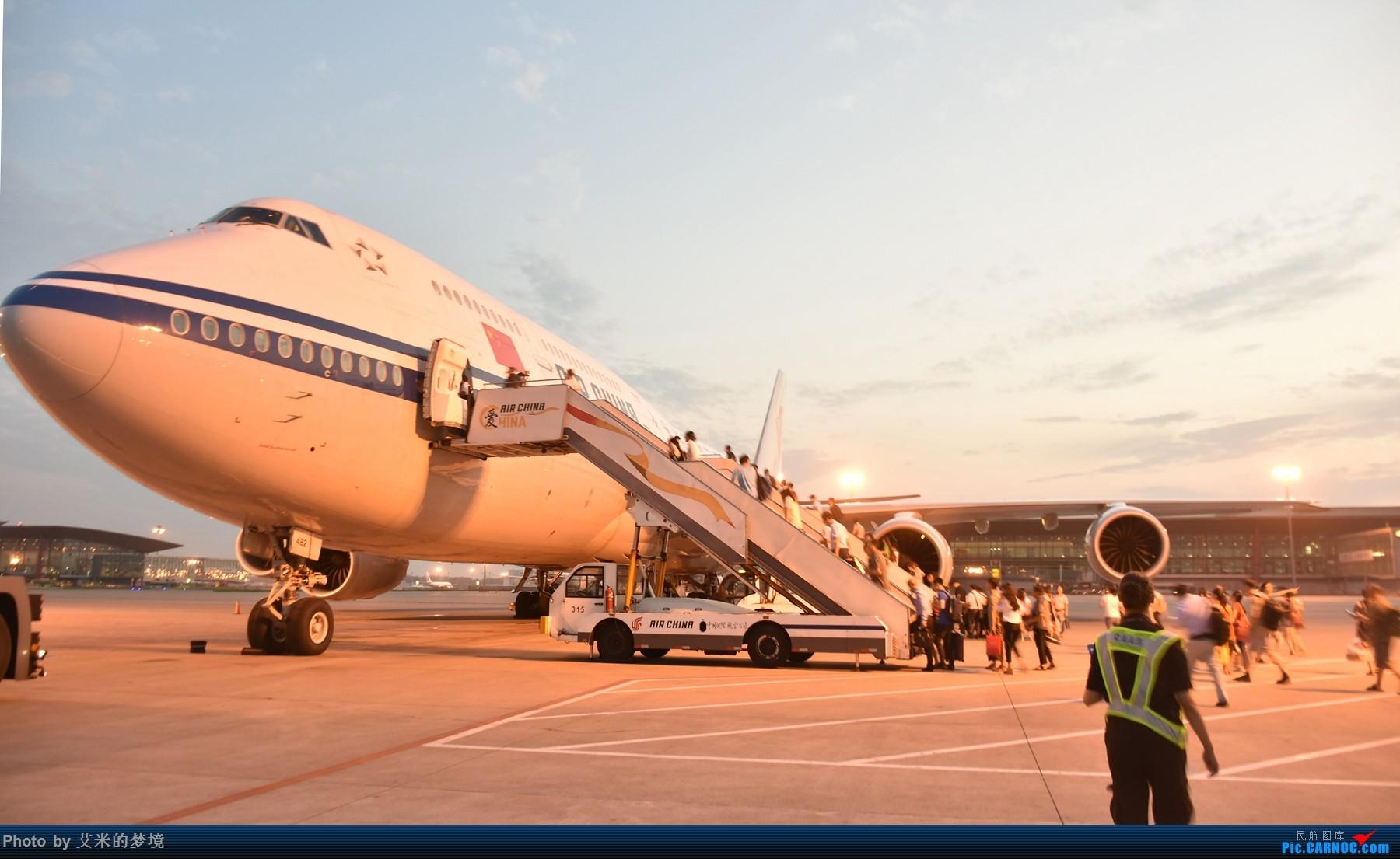 Re:[原创]【carnoc重庆飞友会】北京送行,所见飞行 BOEING 747-8I B-2482 中国北京首都国际机场