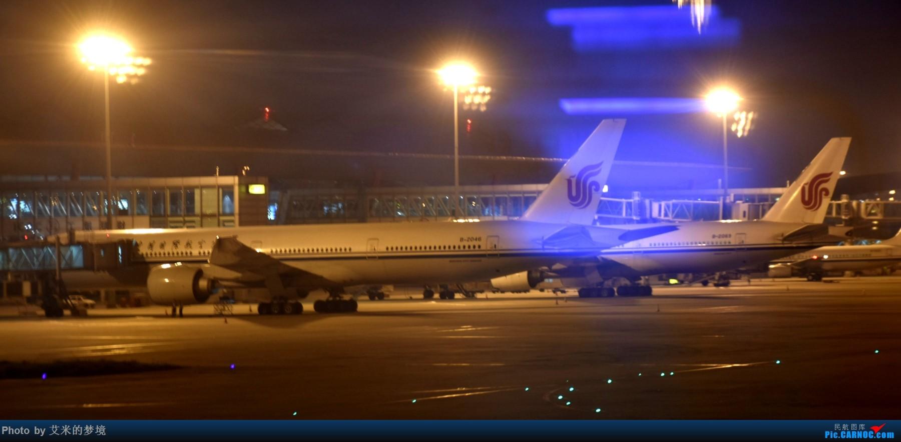 Re:[原创]【carnoc重庆飞友会】北京送行,所见飞行 BOEING 777-300ER B-2046 中国北京首都国际机场