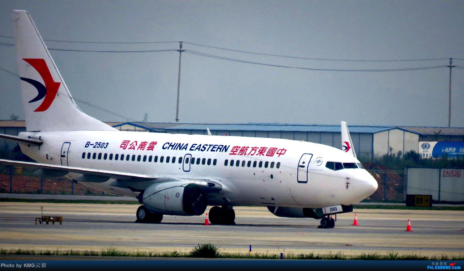 Re:[原创]KMG东跑随拍 BOEING 737-700 B-2503 中国昆明长水国际机场