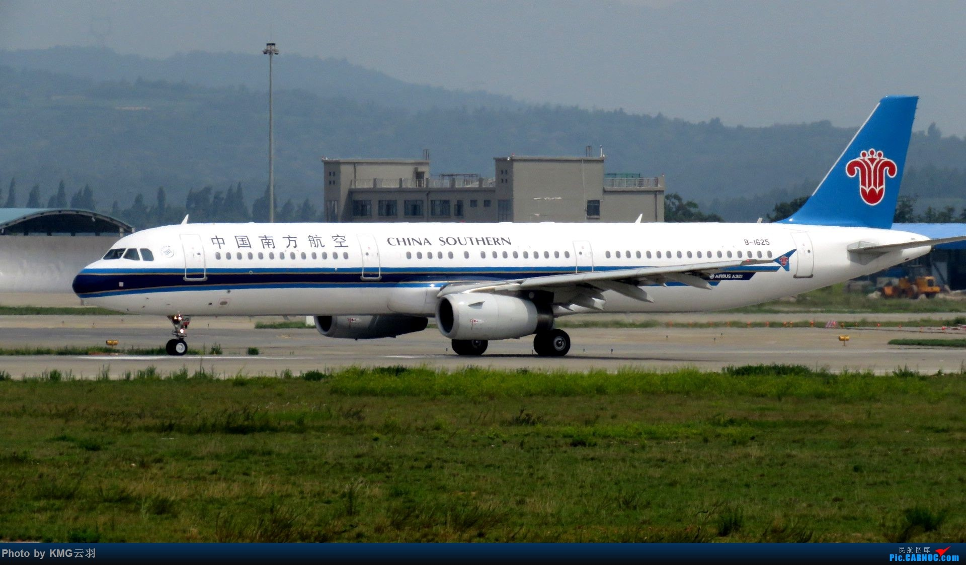 Re:[原创]KMG东跑随拍 AIRBUS A321-200 B-1625 中国昆明长水国际机场