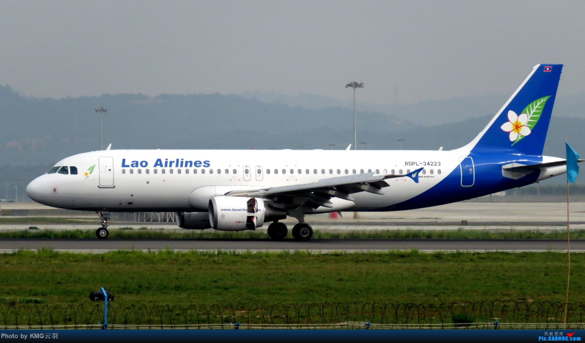 Re:[原创]KMG东跑随拍 AIRBUS A320-200 RDPL-34223 中国昆明长水国际机场