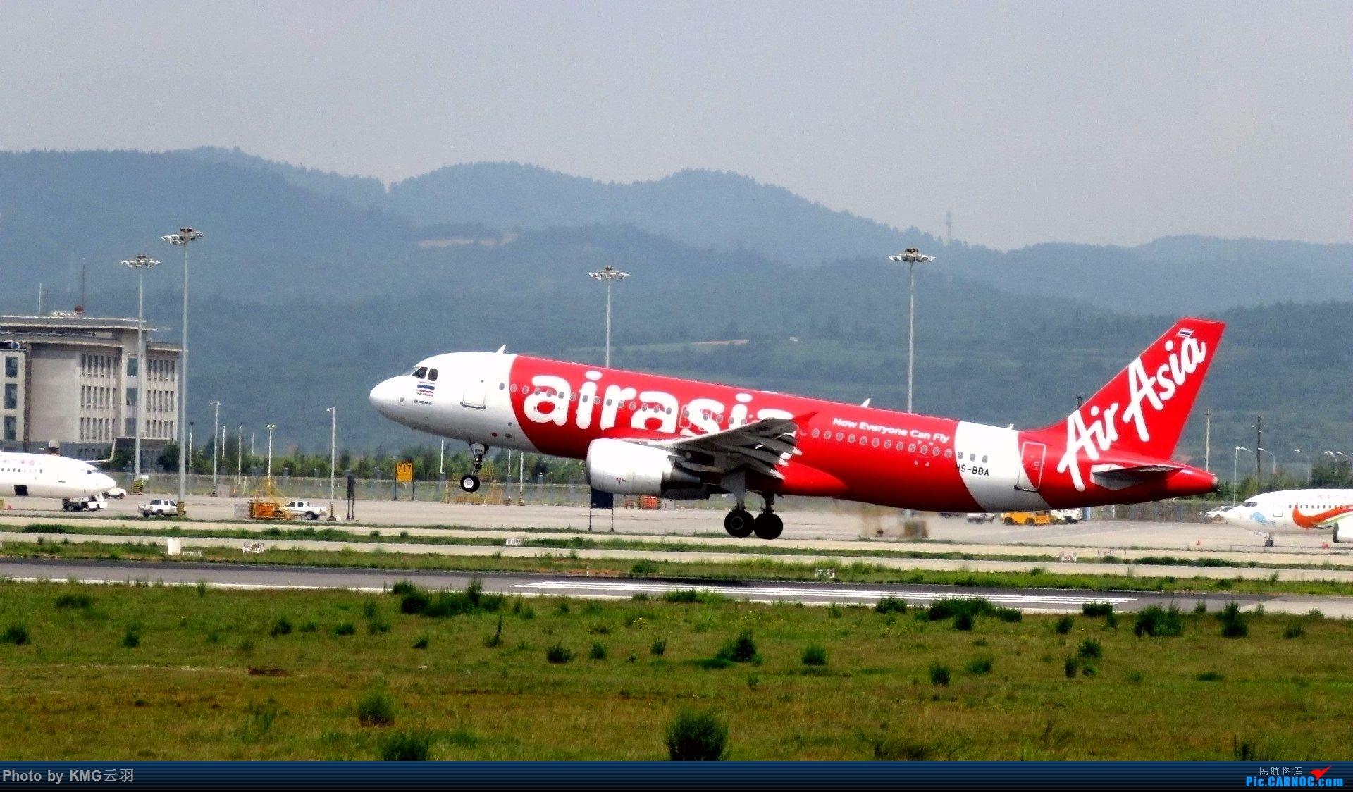 Re:[原创]KMG东跑随拍 AIRBUS A320-200 HS-BBA 中国昆明长水国际机场