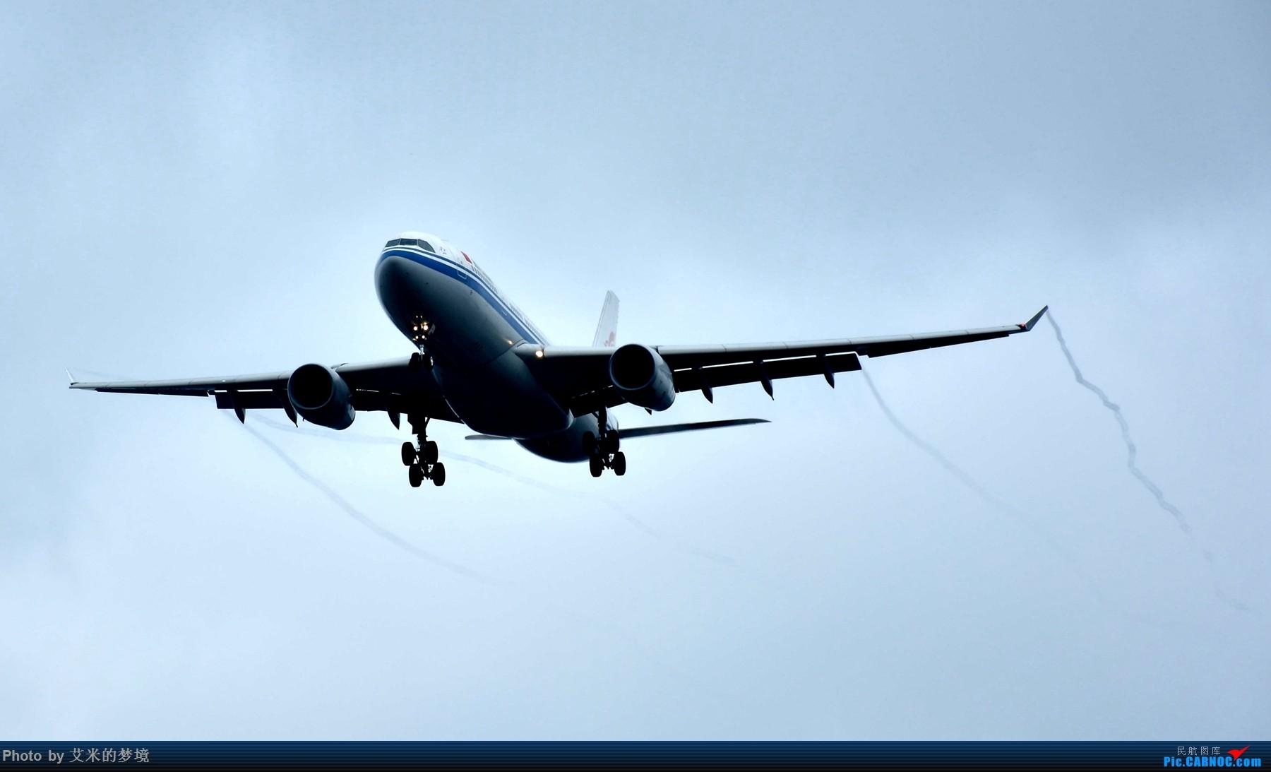[原创]【carnoc重庆飞友会】7.14雨中奔袭。。又被放鸽子的首航日 AIRBUS A330-200 B-6080 中国重庆江北国际机场