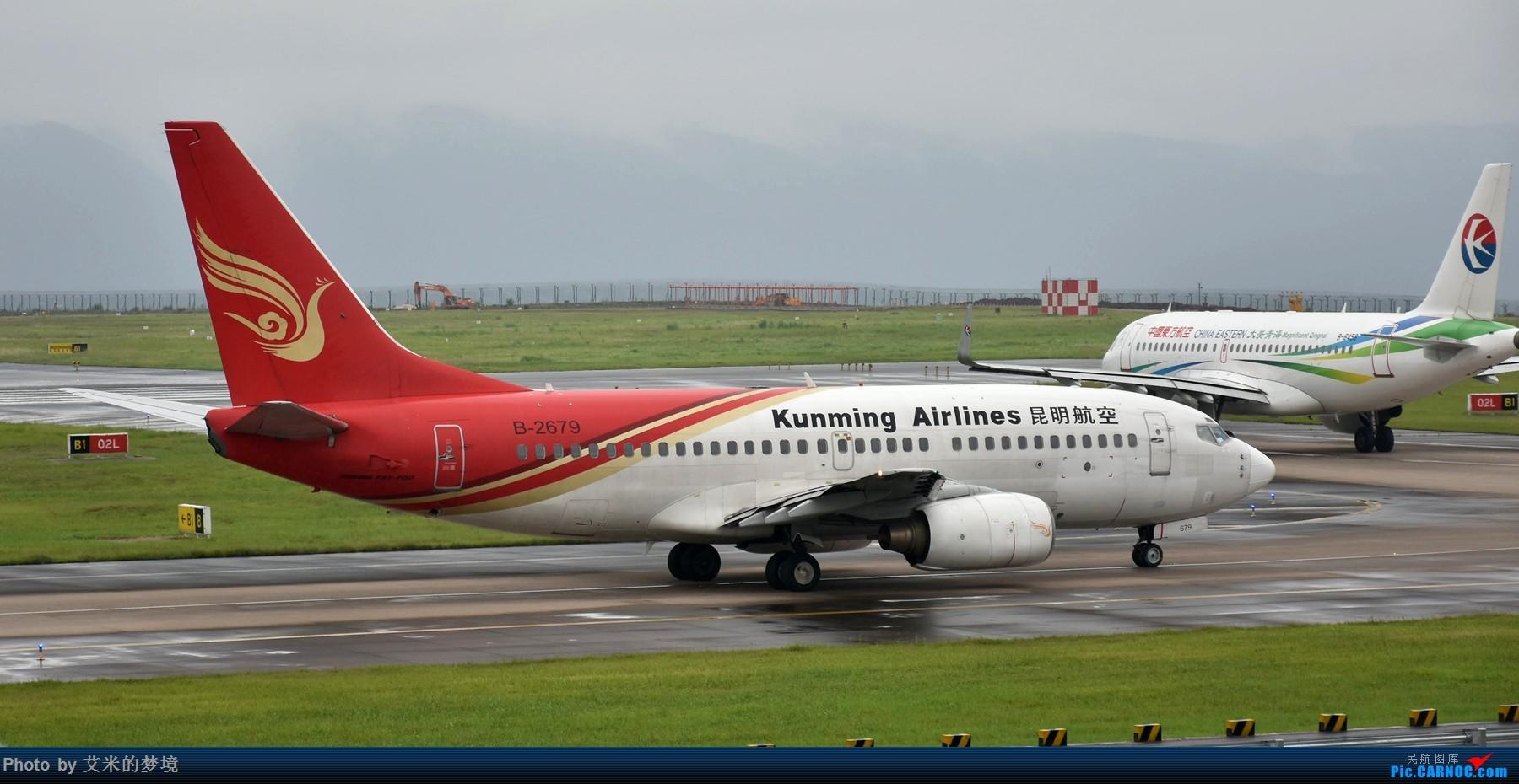 Re:[原创]【carnoc重庆飞友会】7.14雨中奔袭。。又被放鸽子的首航日 BOEING 737-700 B-2679 中国重庆江北国际机场