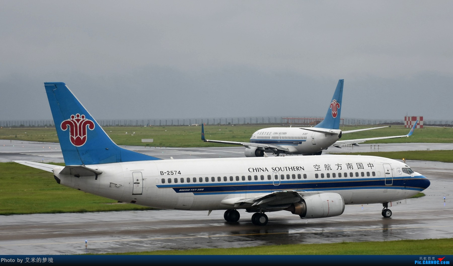 Re:[原创]【carnoc重庆飞友会】7.14雨中奔袭。。又被放鸽子的首航日 BOEING 737-300 B-2574 中国重庆江北国际机场