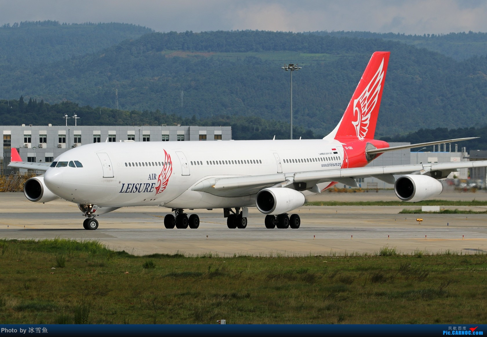 【BLDDQ-昆明飞友会】七爷人品确实好,埃及休闲航空A340-200都为你延误! AIRBUS A340-212 SU-GBO 中国昆明长水国际机场