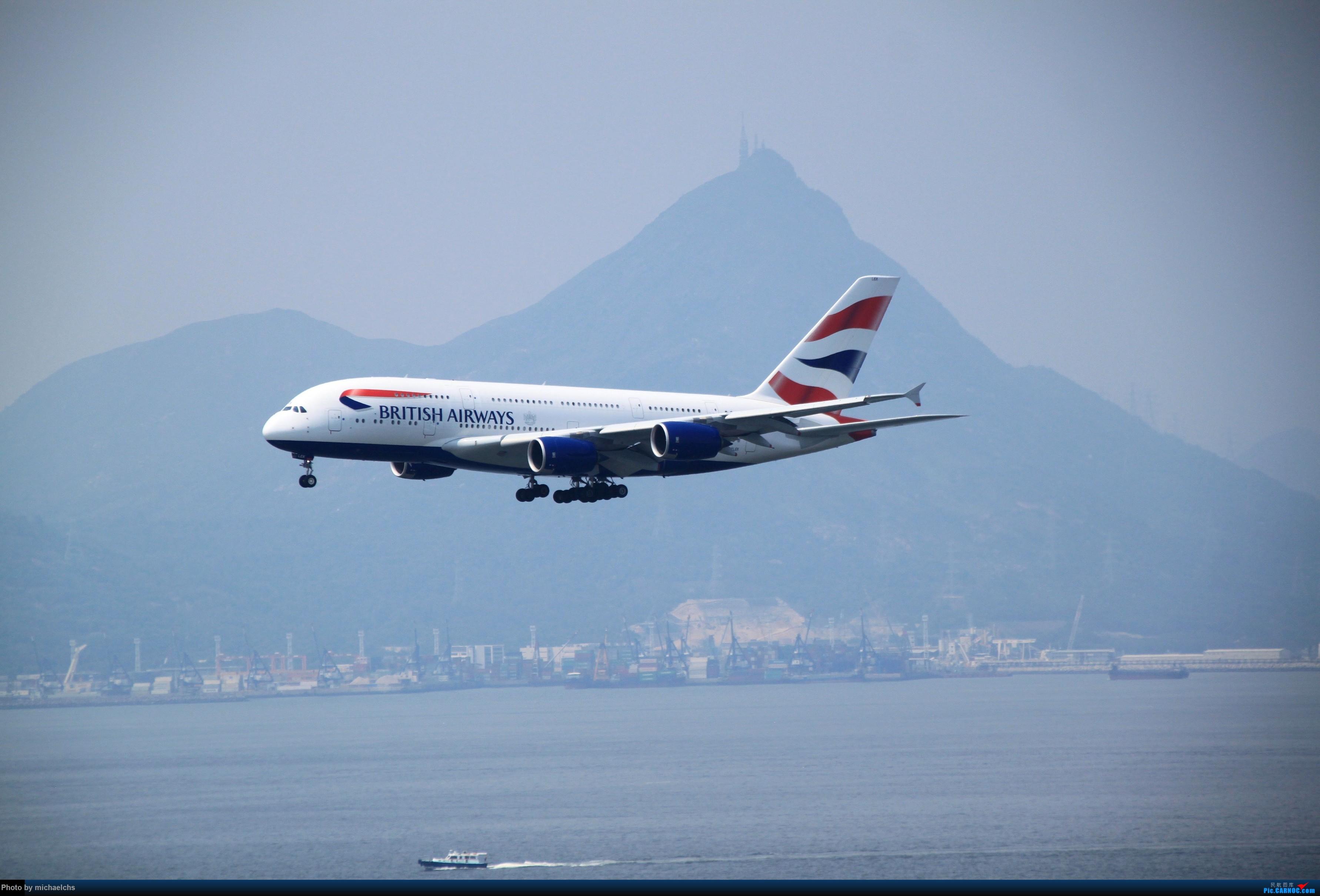 Re:[原创]HKG台风前夕拍机 AIRBUS A380-800  香港国际机场