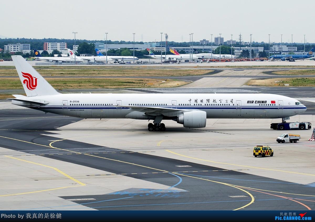 Re:[原创]【多图党】1200x800 中国国际航空 Boeing777-300ER 20架 BOEING 777-300ER B-2036 德国法兰克福机场