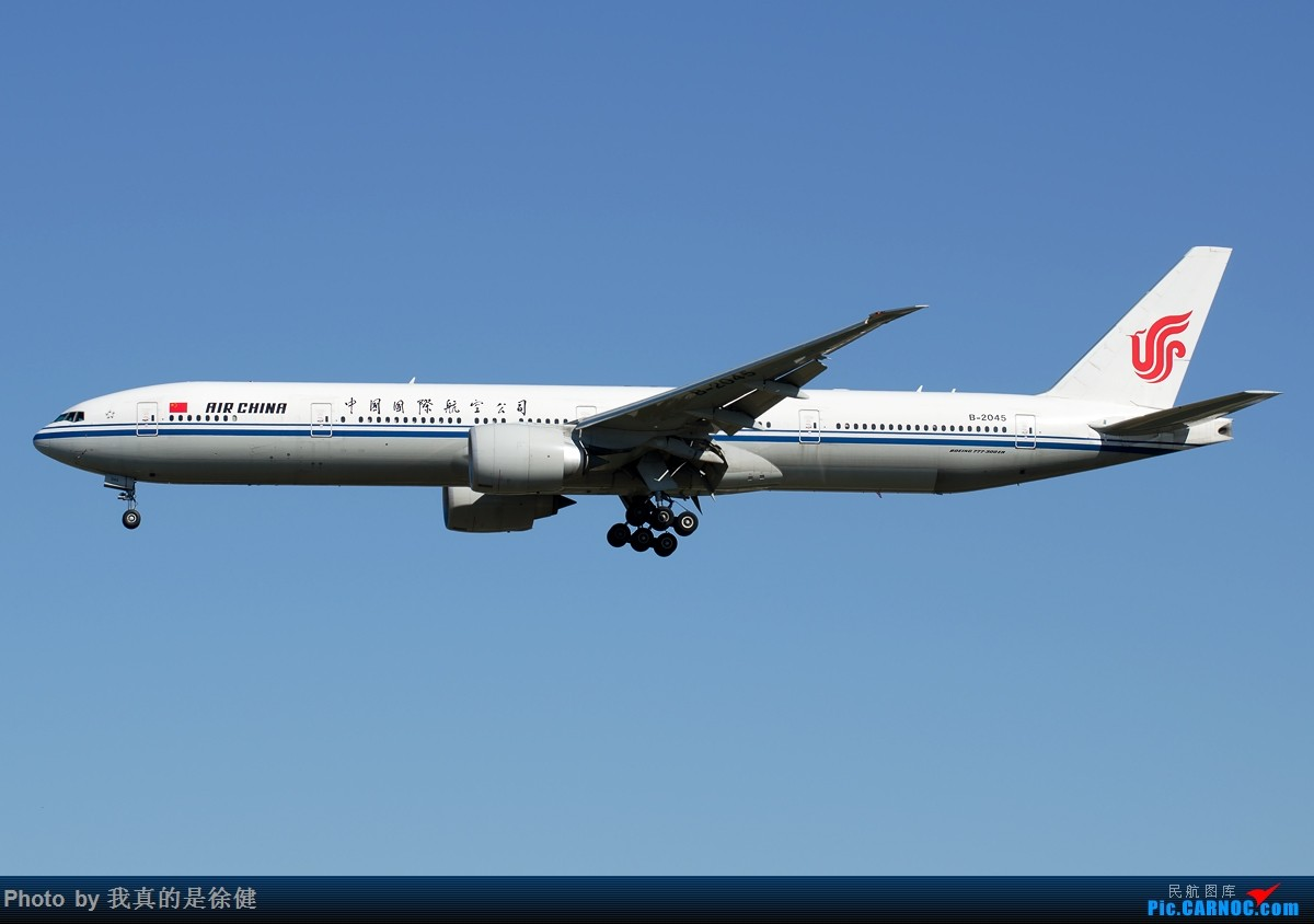 Re:[原创]【多图党】1200x800 中国国际航空 Boeing777-300ER 20架 BOEING 777-300ER B-2045 中国北京首都国际机场