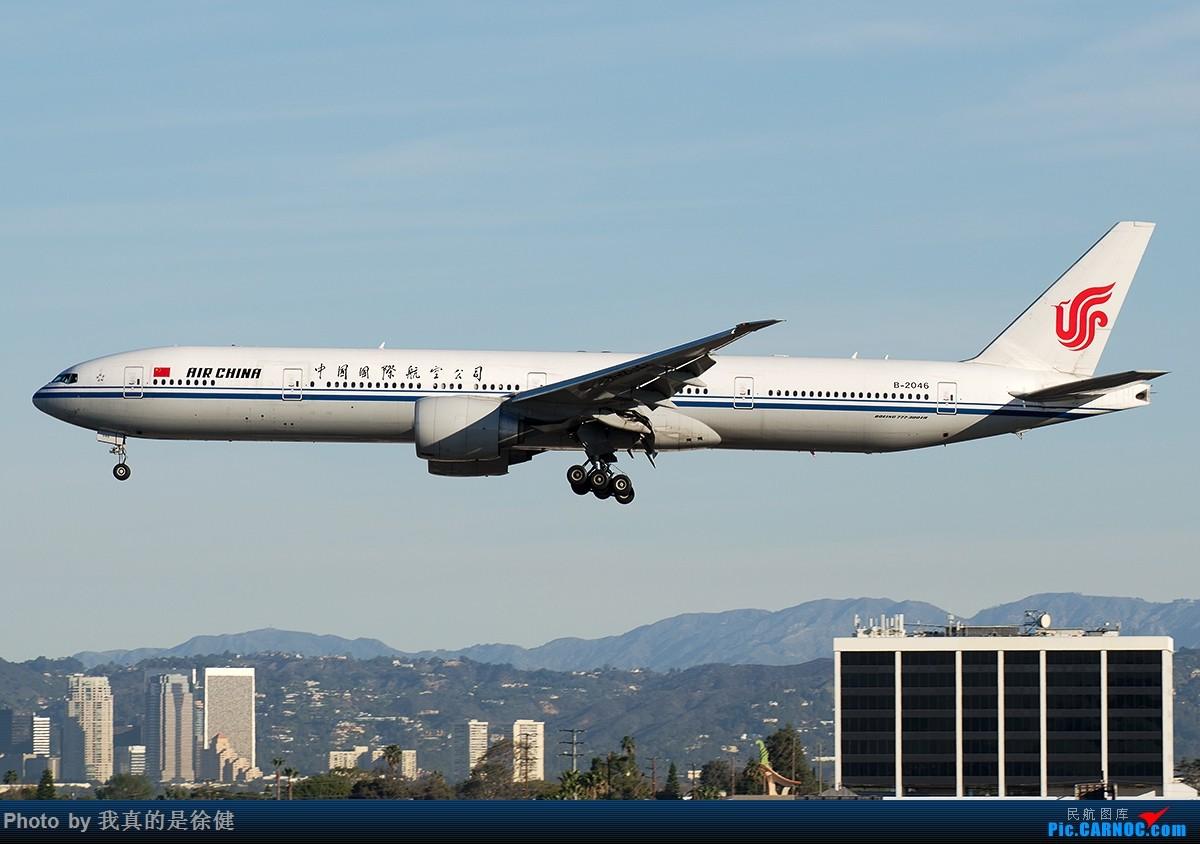 Re:[原创]【多图党】1200x800 中国国际航空 Boeing777-300ER 20架 BOEING 777-300ER B-2046 美国洛杉矶机场