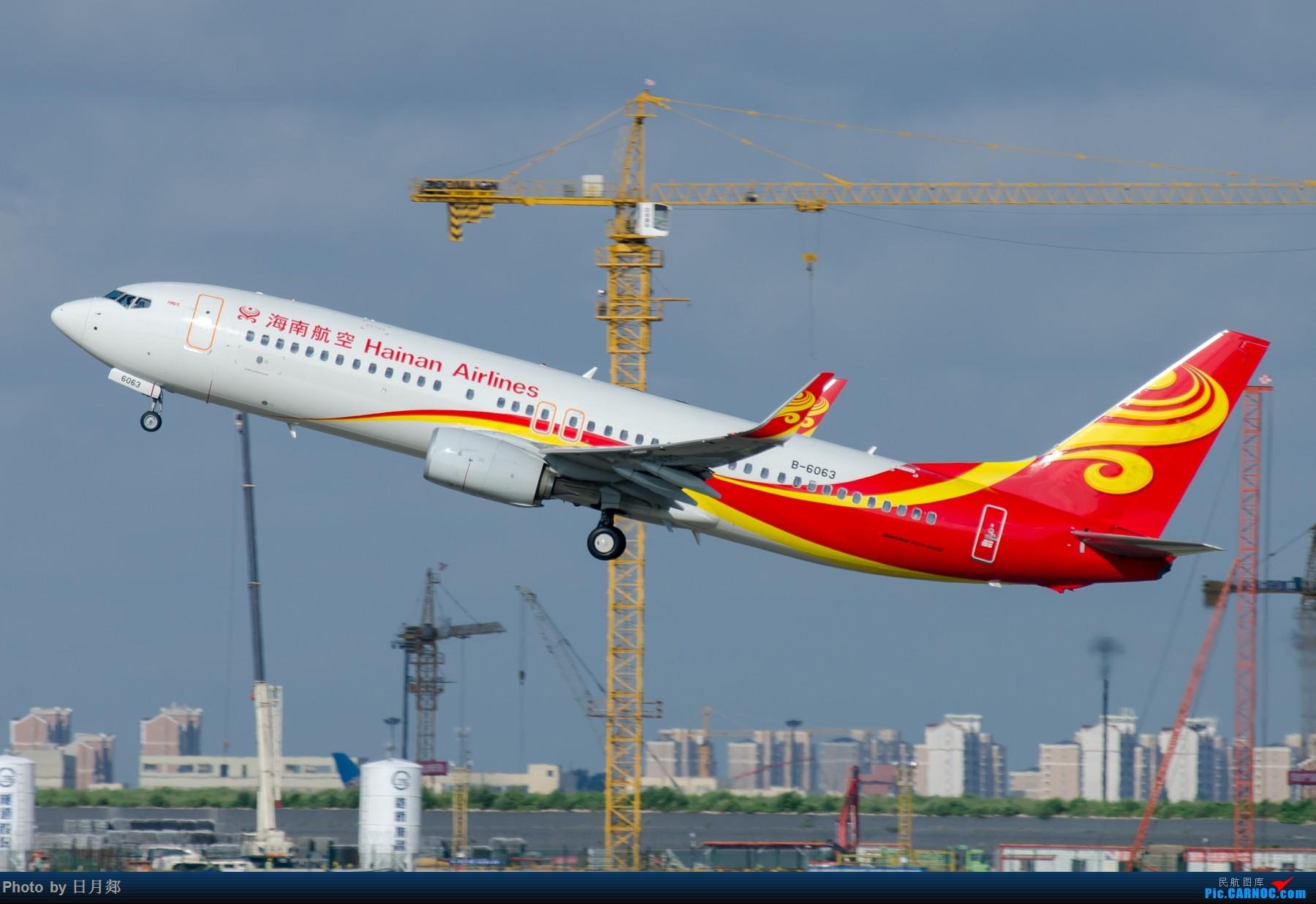 Re:[原创]一年起的最早的一次,PVG撒欢! BOEING 737-800 B-6063 中国上海浦东国际机场