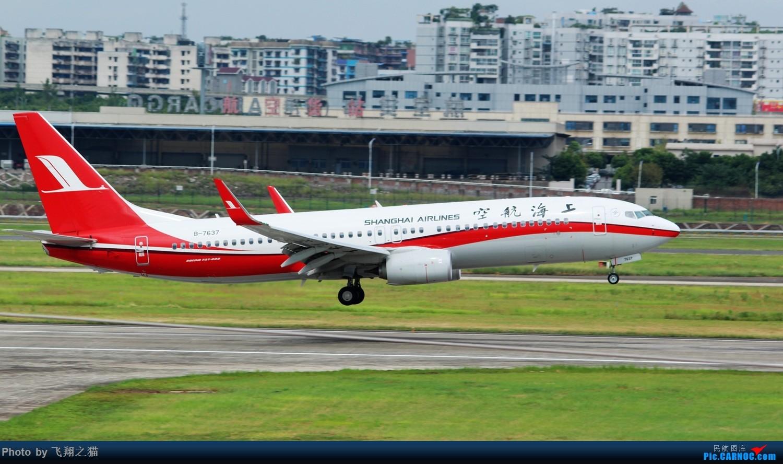 Re:[原创]CKG拍机(就是喜欢拍机机) BOEING 737-800 B-7637 重庆江北国际机场
