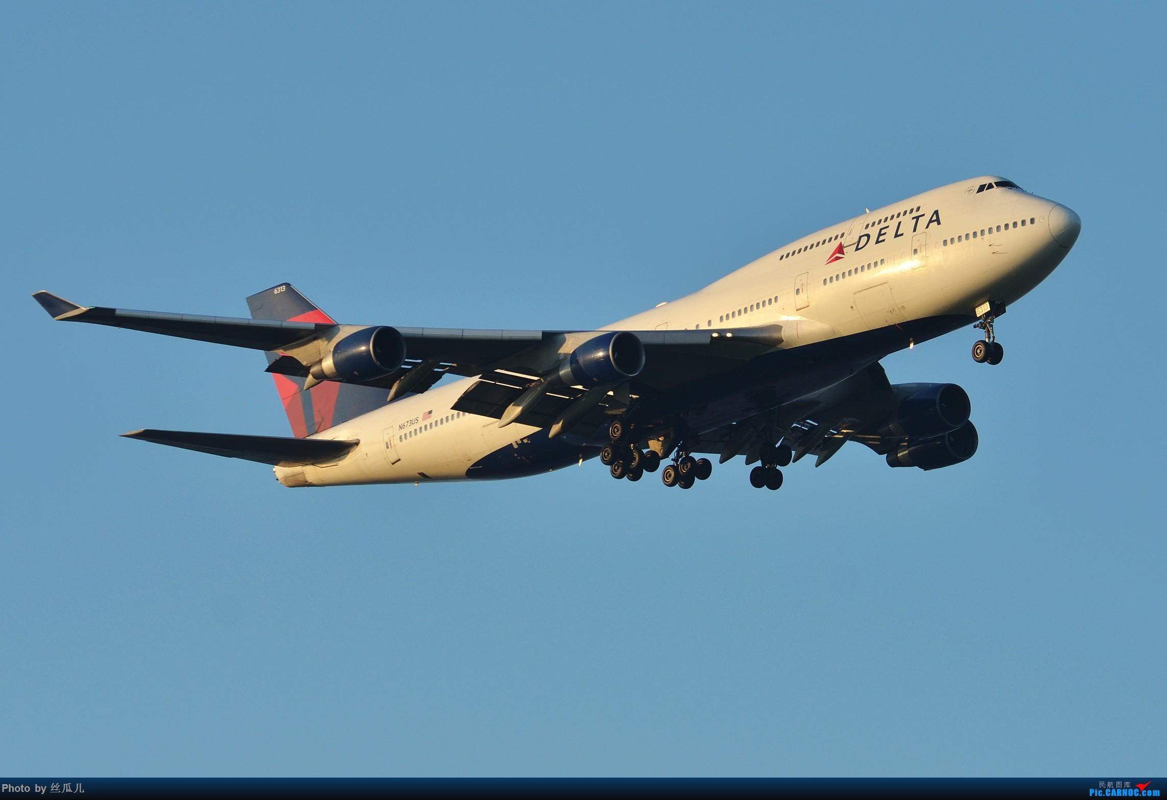 [原创]【徘徊在HGH的丝瓜】瓜哥的高温福利再一波----7月20日的达美打包贴 BOEING 747-400 N763US 中国上海浦东国际机场