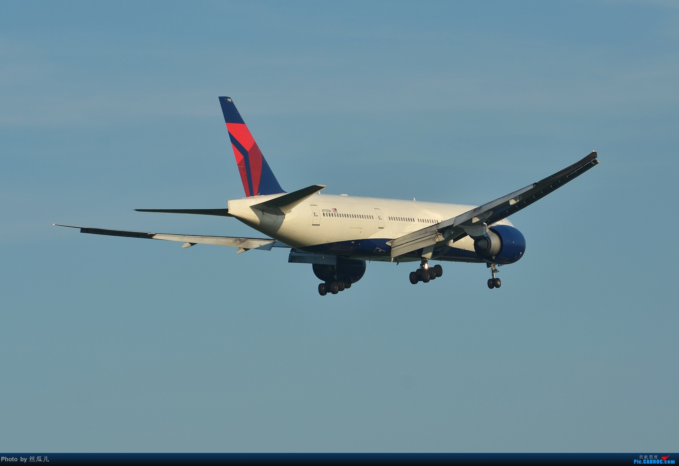 Re:[原创]【徘徊在HGH的丝瓜】瓜哥的高温福利再一波----7月20日的达美打包贴 BOEING 777-200 N710DN 中国上海浦东国际机场