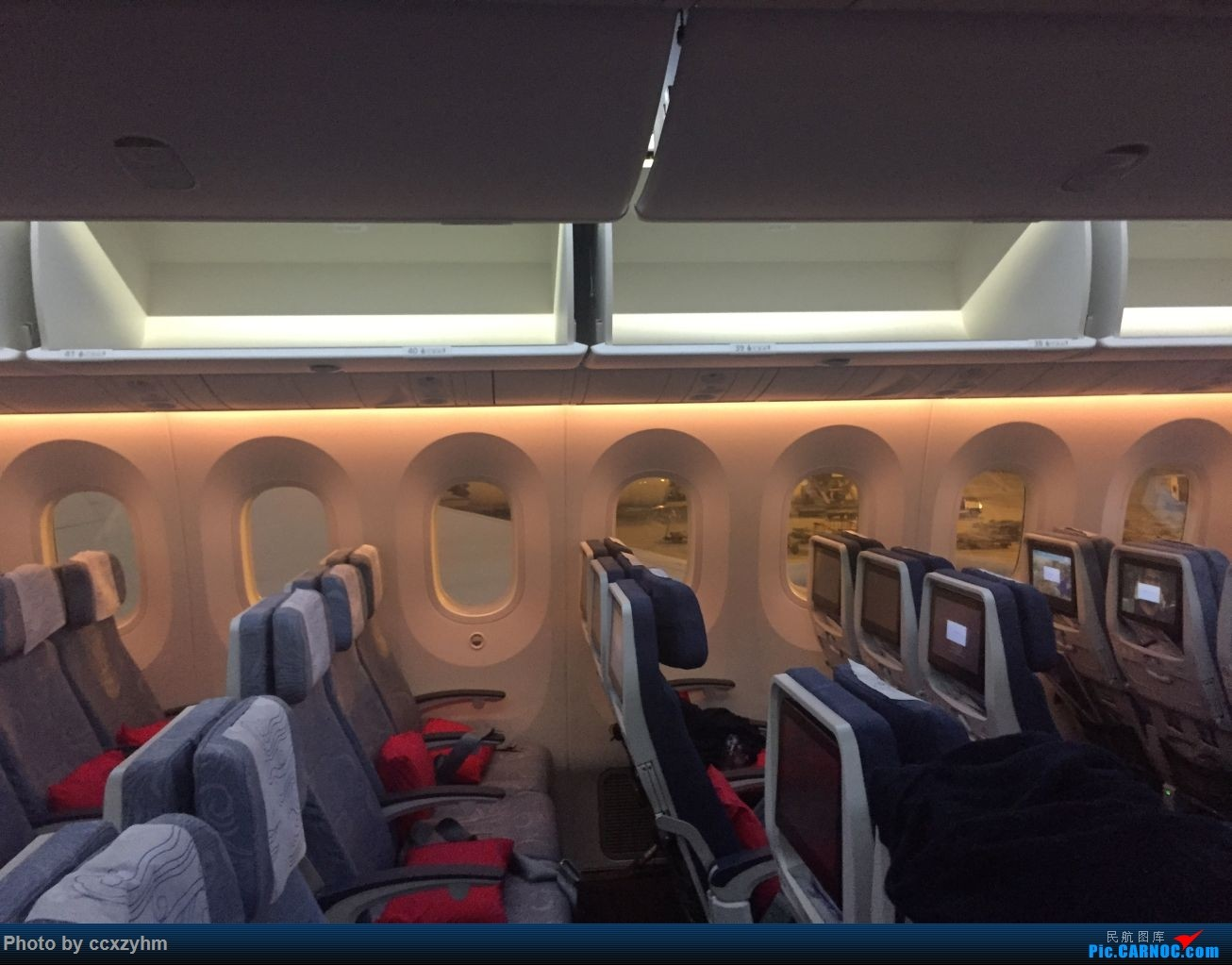 Re:论坛首发 京沪线上的国航789 高二升高三暑假短Break 空铁联运去北京 BOEING 787-9 B-7877 中国北京首都国际机场