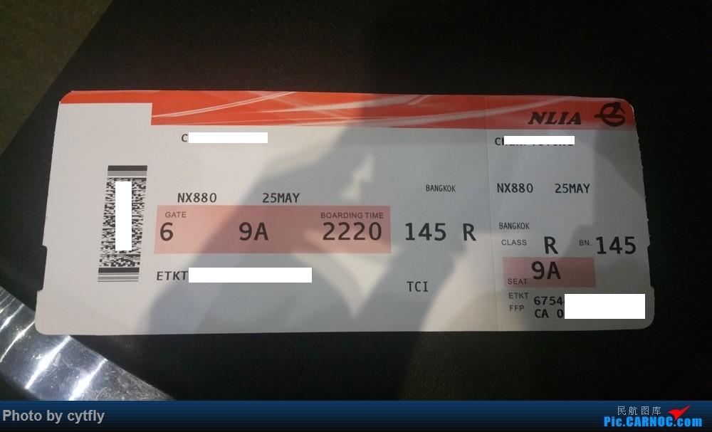 Re:[原创]【北向の飞行】说走就走的泰国惊险之旅【澳门航空+曼谷航空+泰国狮航】初体验   三次险情真实泰囧   含起降视频链接【正在继续更新】