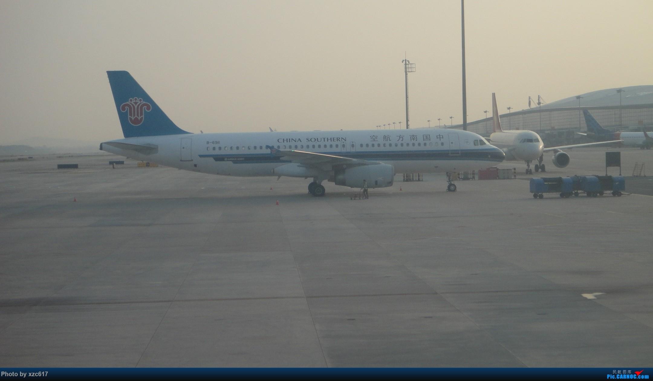 Re:[xzc617的飞行游记 NO.1] 由扬州到大连,平生第一次游海岛 AIRBUS A320-200 B-6911 中国南京禄口国际机场