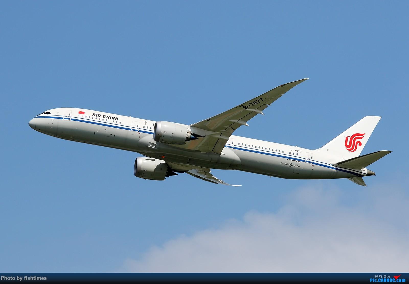 Re:[原创]【一图党】20160807_B-7877 BOEING 787-9 B-7877 中国北京首都国际机场