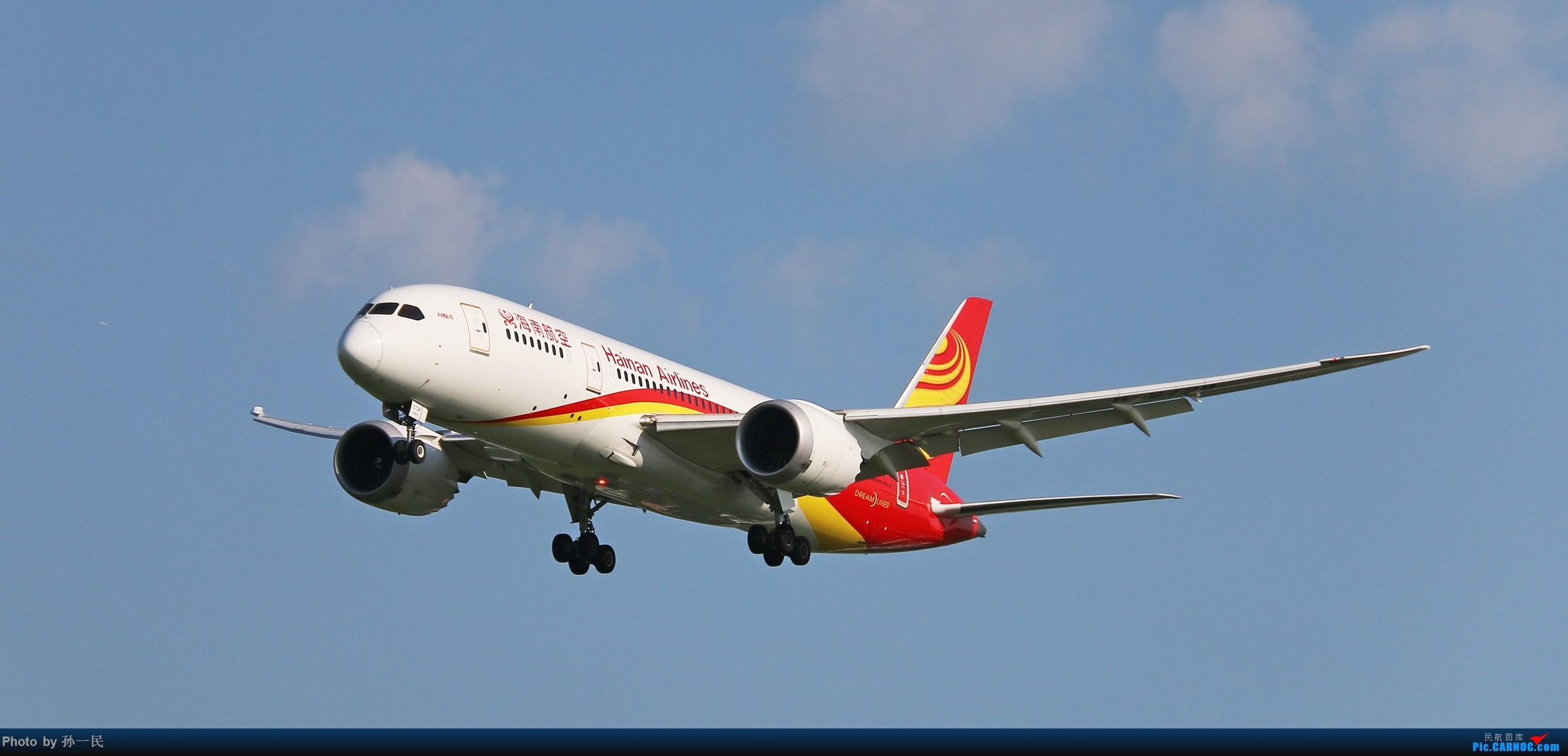 [原创]大晴天杂图一组 BOEING 787-8 B-2728 中国北京首都国际机场