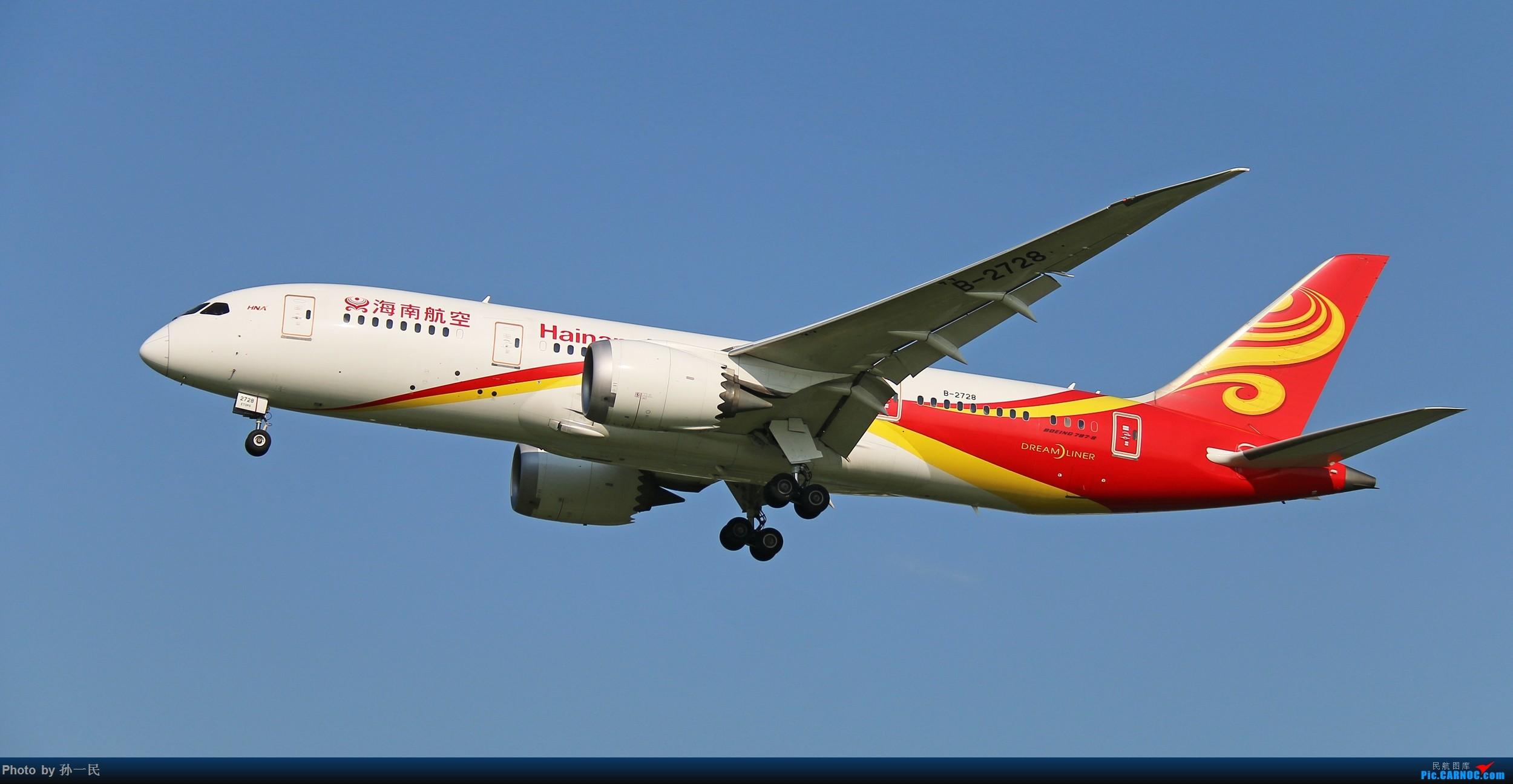 Re:[原创]大晴天杂图一组 BOEING 787-8 B-2728 中国北京首都国际机场