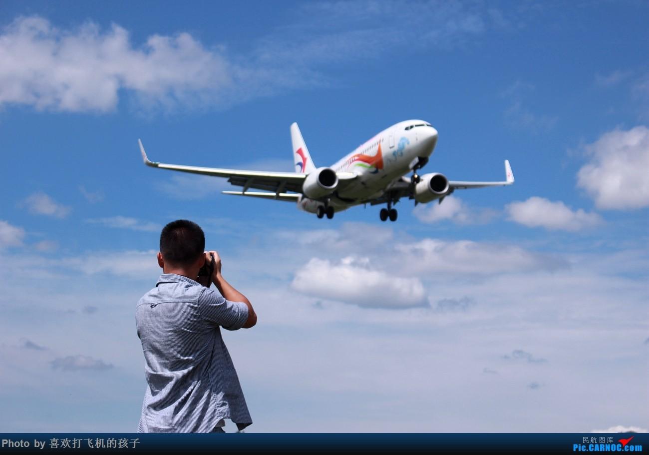 Re:[原创]云南昭通出差,昭通市昭阳机场拍机 BOEING 737-700 B-5819 中国昭通机场  CARNOC网友
