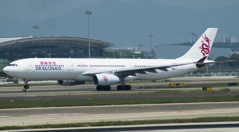 [原创]广州拍机—港龙330 AIRBUS A330-300 B-HLC 中国广州白云国际机场