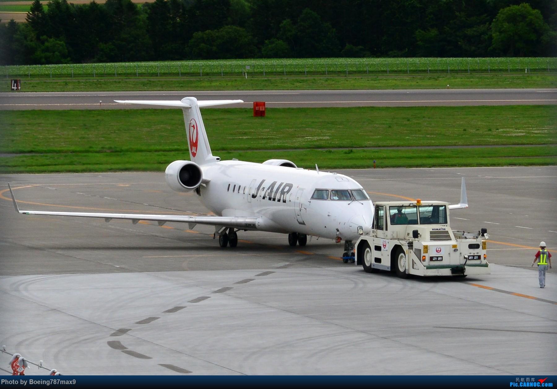 [原创]真是有意思的小飞机J-AIR Bombardier CRJ-200ER BOMBARDIER CRJ200ER JA208J 日本旭川机场