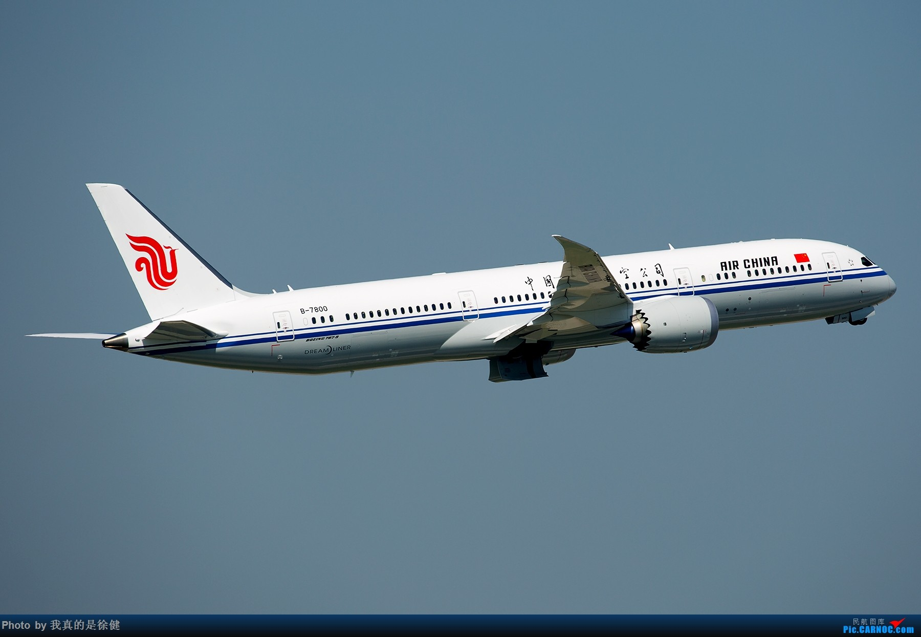 >>[原创]【一图党】1800x1200 中国国际航空 boeing787-9 b-7800