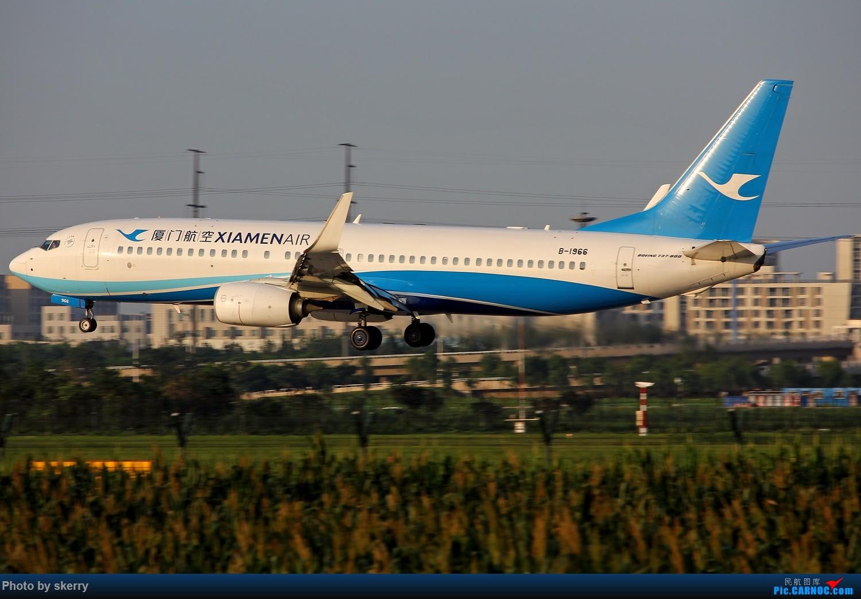 Re:[原创]【TSN天津飞友会】久违的好天气,久违的TSN 34R*** BOEING 737-800 B-1966 中国天津滨海国际机场