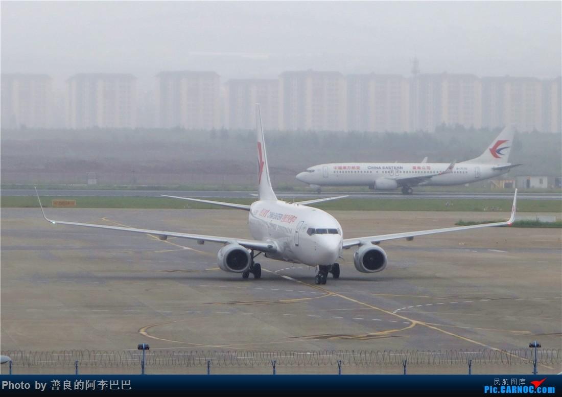 Re:[原创]昆明大雨航站楼看飞机 BOEING 737-700 B-5256 中国昆明长水国际机场