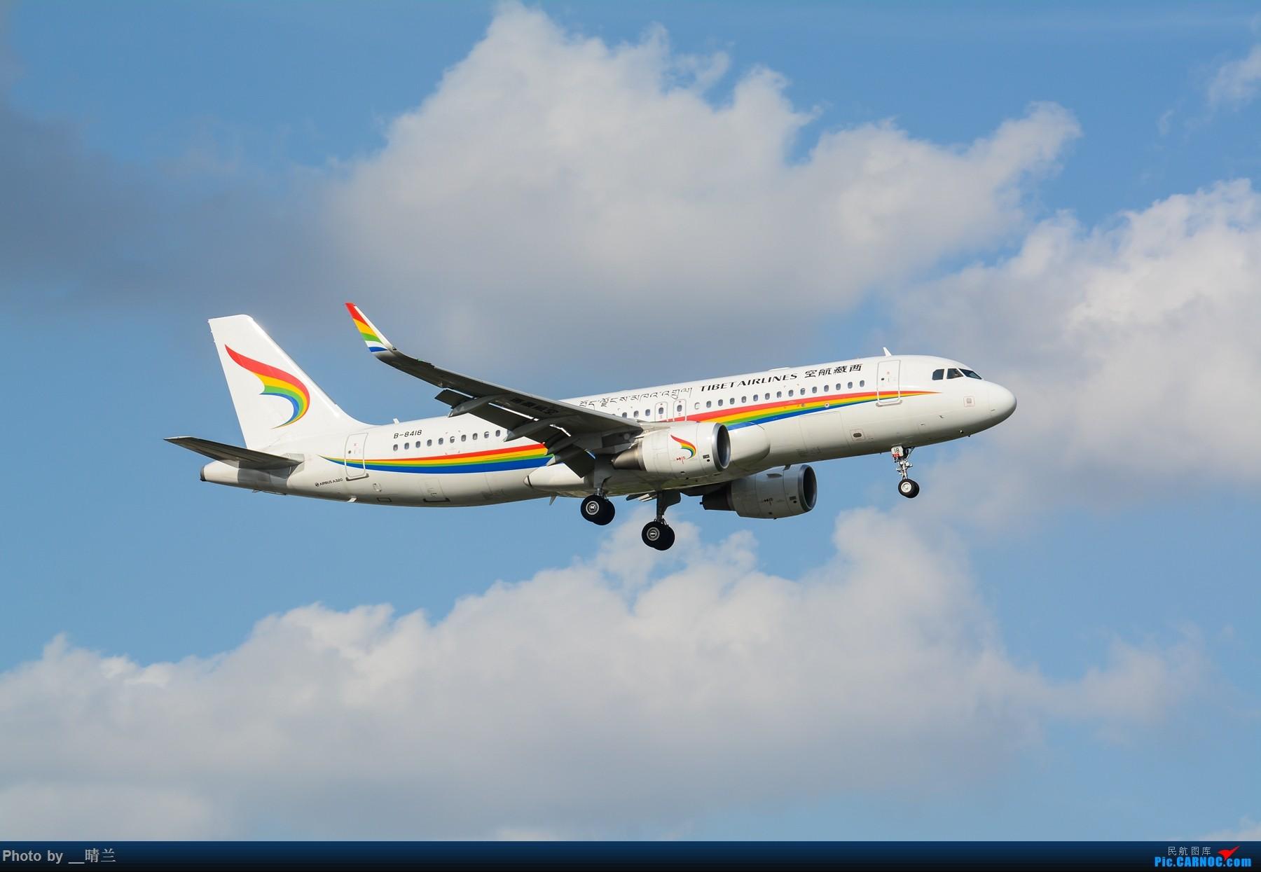 Re:[原创]果然昨天发了图,今天SHA就是大蓝天~~最开心的事莫过于基友们一起拍机! AIRBUS A320-200 B-8418 中国上海虹桥国际机场