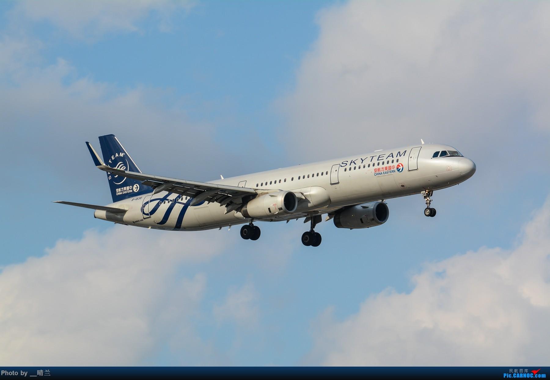 Re:[原创]果然昨天发了图,今天SHA就是大蓝天~~最开心的事莫过于基友们一起拍机! AIRBUS A321-200 B-1838 中国上海虹桥国际机场