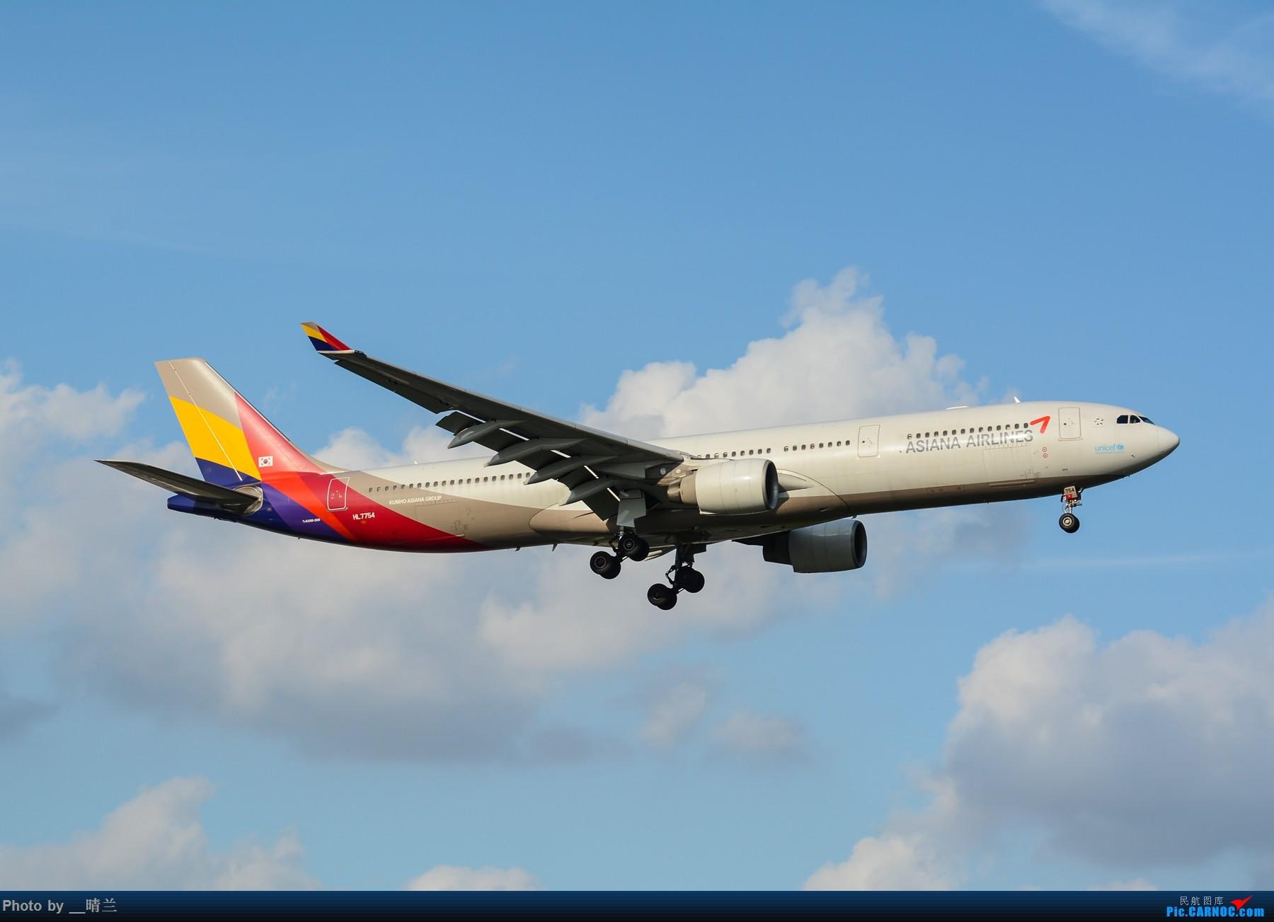 Re:[原创]果然昨天发了图,今天SHA就是大蓝天~~最开心的事莫过于基友们一起拍机! AIRBUS A330-300 HL7754 中国上海虹桥国际机场