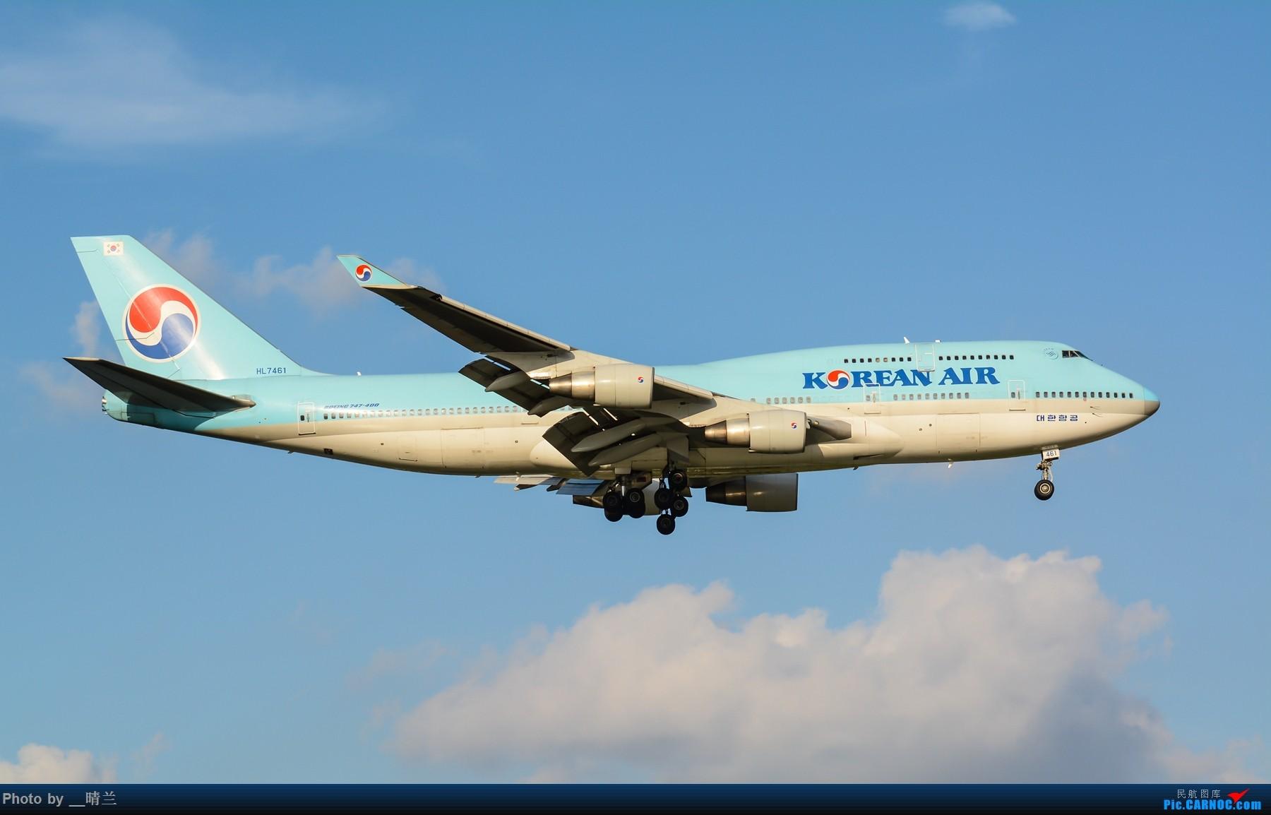 Re:[原创]果然昨天发了图,今天SHA就是大蓝天~~最开心的事莫过于基友们一起拍机! BOEING 747-400 HL7461 中国上海虹桥国际机场