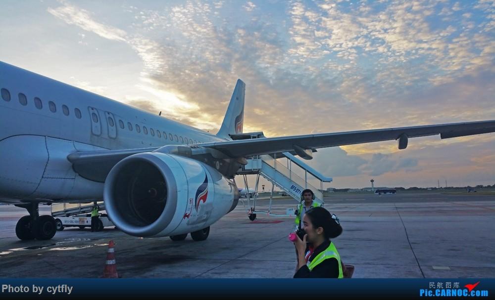 Re:[原创]【北向の飞行】说走就走的泰国惊险之旅【澳门航空+曼谷航空+泰国狮航】初体验   三次险情真实泰囧   含起降视频链接【正在继续更新】 AIRBUS A320-200 HS-PPH 泰国曼谷素万那普国际机场