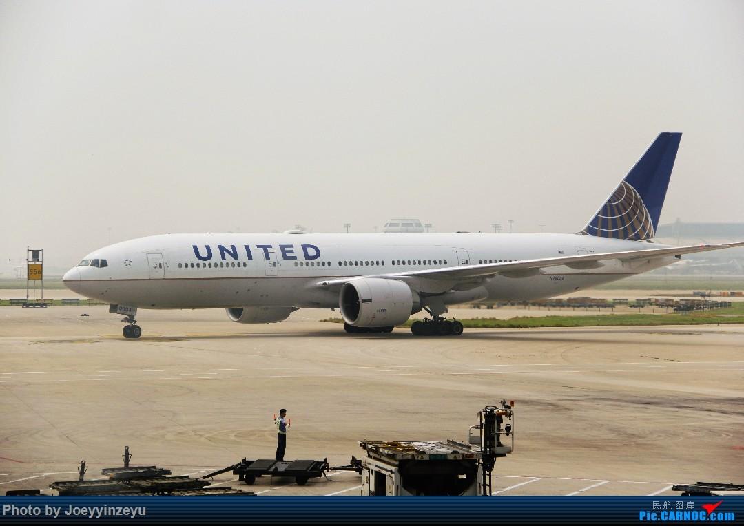 [原创]帝都机场大拍机,烂天好货多,收录各种远程机型及外航,青瓷小飞机 BOEING 777-200ER N78004 中国北京首都国际机场